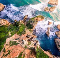 Stunning Drone Photography by Jerome Courtial