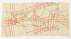Textile, Wires, 1947 #geometry #art