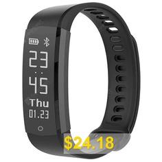 Lenovo #HX06H #Smart #Bracelet #Sports #Watch #- #BLACK