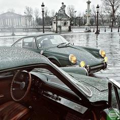 "Dom.Rambelson on Instagram: ""911T & 912 ""sealed-beam"" #paris #placedelaconcorde #granderouedeparis #obelisque #champselysees #lesinvalides #classiccar…"""
