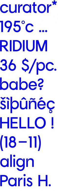 Engelbreckt #typography