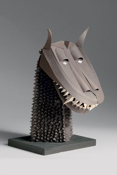 Irving Harper: Works in Paper #sculpture #paper #irving harper