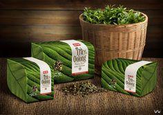 Cau Tre Oolong Tea on Packaging Design Served