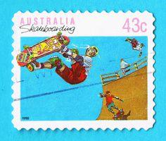 80s Australian Stamps #stamps #80s #philatelic