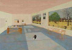 Sarah McEneaney, 'Locker Plant Studio', 2009, Tibor de Nagy