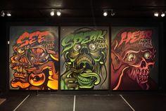 Kripszou Exhibition on Behance #art #street