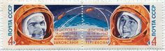 All sizes | soviet double space stamp, 1963 | Flickr - Photo Sharing! #stamp #postage