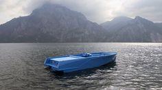 Blue-Boat-by-Xavier-Veilhan-1.jpg (600×337) #veilhan #xavier