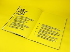 Graphical House - Channel 4 #print #photography #type #brochure #typography