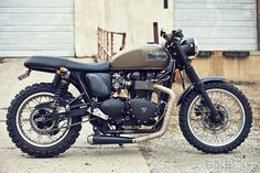 2008 Triumph Scrambler 865 custom #machine #vintage #motorcycle #triumph