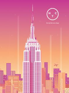 New York City | Bailey Sullivan #new york #city #skyline #empire state building