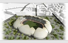 Batumi Arena. #inspiration #design #stadium #batumi #architecture #minimal #arena #football #steepstudio
