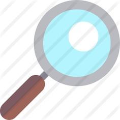 See more icon inspiration related to search, magnifying glass, zoom, loupe, detective and Tools and utensils on Flaticon.