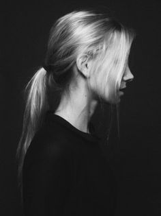 FFFFOUND! | Nickel Cobalt #white #girl #photo #black #and