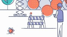 NEW SCIENTIST - MANIPULATING ATOMS on Behance