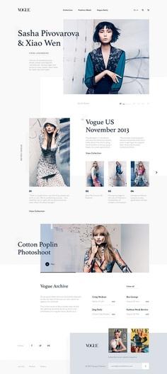 Fashion Landing Page Experiment