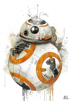 BB-8 by AlexAasen #illustration #starwars