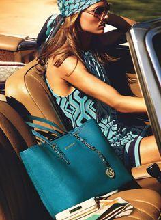 Karmen Pedaru & Simon Nessman for Michael Kors' Summer Campaign #fashion #model #photography #girl