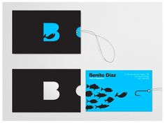 david de la fuente #business #card #identity #branding