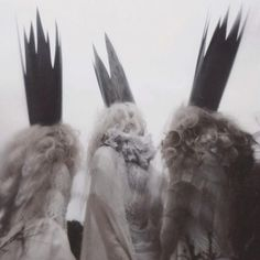 Gorgeously Mysterious, Melancholic and Fine Art Portrait Photography by Nona Limmen