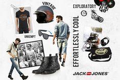 Jack Jones Mood Board #jones #swag #design #jack #art #fashion #style #cool