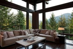 Onestep Creative - The Blog of Josh McDonald #interior #design #color #wood #nature #view #windows