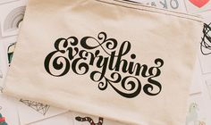 TattlyEverything #logotype #identity #typography
