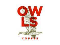 Owls Coffee #logo #owl
