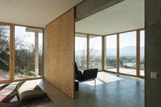 GIAN SALIS ARCHITEKT – WOHNHAUS AM HANG #interior #concrete #architecture #minimal #german