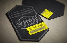 Ohhoney #print #tag #label #typography