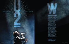 U2 - RK Design #layout #editorial design