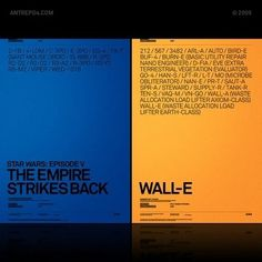 Alternate Movie Poster R2 ~ ANTREPO BLOG / A2591 #design #graphic #poster
