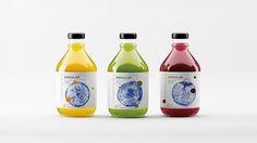 Singular fresh juice - Nikita Ivanov #concept #packaging