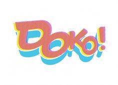 Kokoro & Moi | Doko! #logo #branding