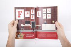 Jessica Hische on Behance #spread #illustration #book #workspace