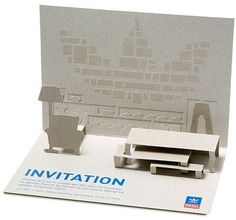 FFFFOUND! | FLOOR 5 #invitation #card #diesel #pop up