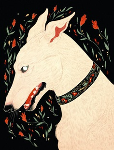 "dappermouth: ""Winter is a lean white hound, who walks by night and makes no sound """
