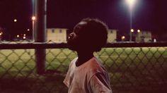 flying lotus #boy #fence #night #chain #walk