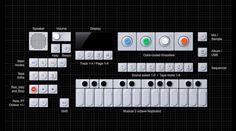 op1-keyboard-layout_3820.jpg 900×503 pixels #synth #design #product #industrail #music #engineering #teenage