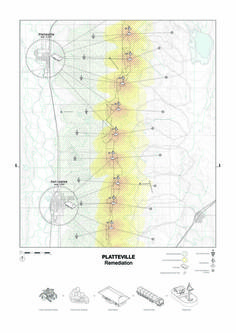 John Cook: Remediating strategy, Platteville, Weld County, CO #geoarchitecture