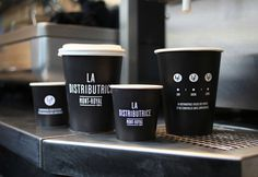 Smallest cafe place in North America, visual identity #coffee #identity