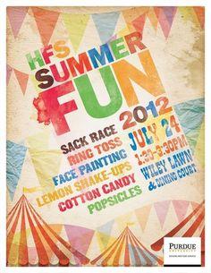 Portfolio of Jon Benson #typography #summer #fun #flags #carnival #circus #fair #tent