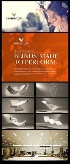 [Viewscape Brand Strategy & Identity] TANK: Creative Intelligence #artdirection #tankbranding #branding #blinds