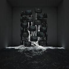 tumblr_lxz5k6XutD1qfmeiqo1_500.jpg (imagen JPEG, 500 × 500 píxeles) #experiments #art #installation