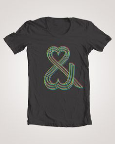 Love Series: Love one another - T-shirt design #weme #icon #shirt #ampersand #love