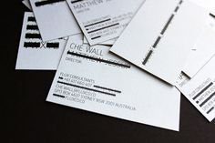Flux on Behance #business #card #black #unique #identity #layout #deisgn #typography