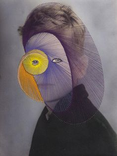 The Embroidered Secrets of Maurizio Anzeri | Yatzer #contemporary #embroidery #photography #art #maurizio #collage #anzeri