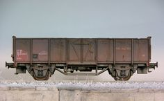 1:87 H0 E Wagen Roco BLS #train #model #diorama #photography #railway #miniature