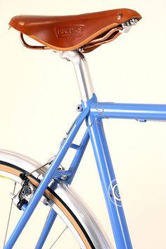 Curt Goodrich Seattube and Brooks Saddle | Flickr Photo Sharing! #brooks #bike #saddle