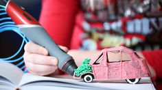 Scribbler DUO: Dual-Nozzle 3D Printing Pen - IPPINKA This pen lifts your imagination off of the page and lets you become the master behind